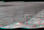 see the image 'Opportunity's Surroundings on 3,000th Sol, in 3-D'