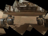 read the article 'NASA Mars Rover Curiosity's Arm Wields Camera Well'