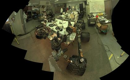 see the image 'Self-Portrait of Curiosity's 'Stunt Double''