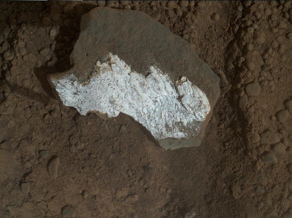Close-up View of Broken Mars Rock 'Tintina' | Mars Image