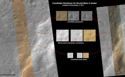 see the image 'Could This Be the Mars Soviet 3 Lander?'