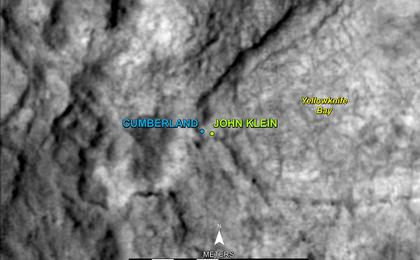 see the image ''Cumberland' Selected as Curiosity's Second Drilling Target'