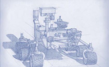 read the article 'Artist's Concept of Mars 2020 Rover'