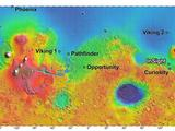The process of selecting a site for NASA's next landing on Mars, planned for September 2016, has narrowed to four semifinalist sites located close together in the Elysium Planitia region of Mars.