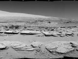 read the article 'NASA's Curiosity Mars Rover Views Striated Ground'
