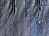 read the article 'NASA Orbiter Finds New Gully Channel on Mars'