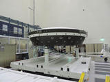 The main structural body of the second flight test vehicle in NASA's Low-Density Supersonic Decelerator (LDSD) project is seen during its assembly in a cleanroom at NASA's Jet Propulsion Laboratory. The flight test for this vehicle is planned for the summer of 2015.