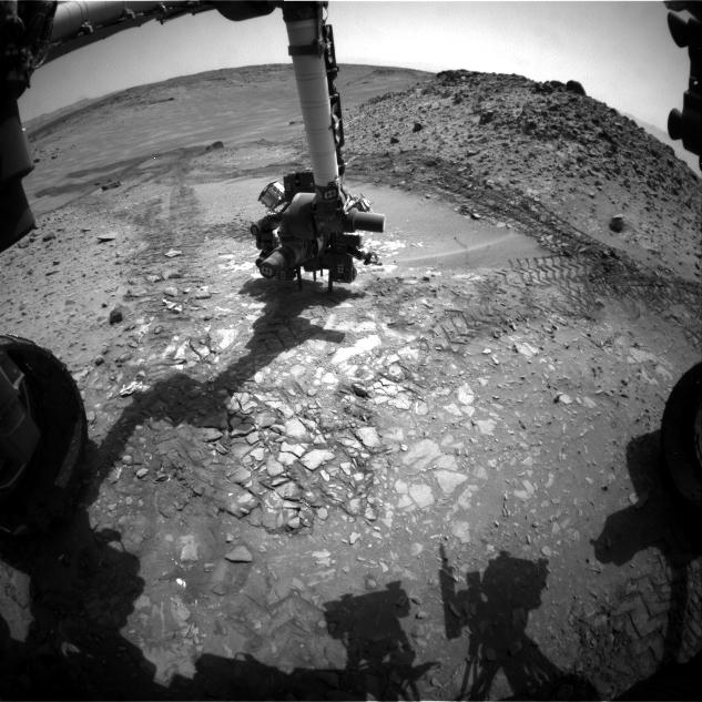 Candidate Drilling Target on Mars Doesn't Pass Exam