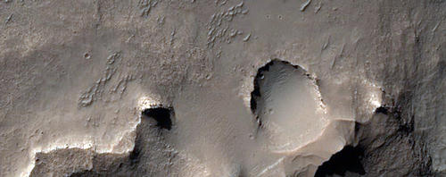 Eridania Basin Light-Toned Outcrops