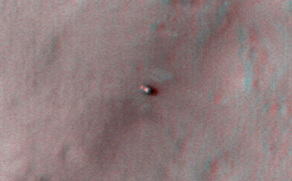 see the image 'Curiosity at Bradbury Landing Site in 3D'