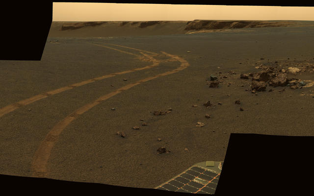 D-Star Panorama by Opportunity