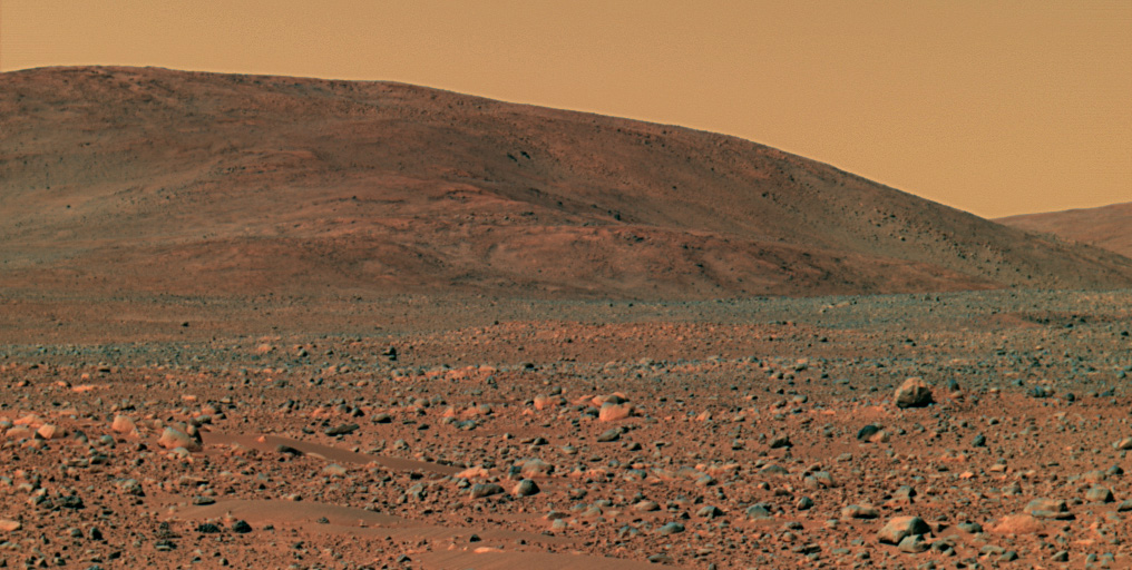 Approaching the Hills | Mars Image