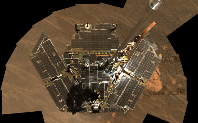 Opportunity Self-Portrait