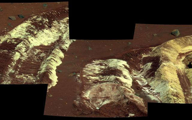 Bright Soil Near 'McCool'