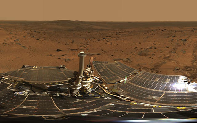 Summit Panorama with Rover Deck