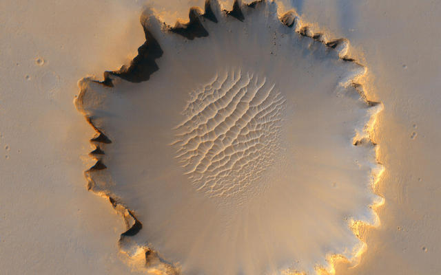 'Victoria Crater' at Meridiani Planum