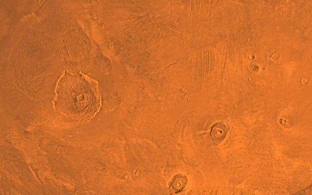 Tharsis Volcano