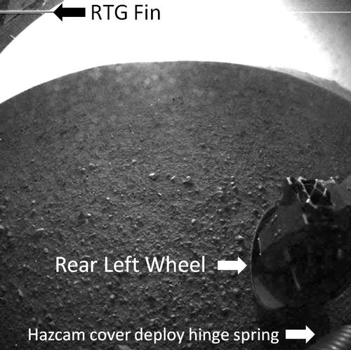 Curiosity's Rear View, Annotated