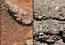 see the image 'Rock Outcrops on Mars and Earth'