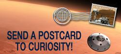 Send a Postcard to Curiosity!