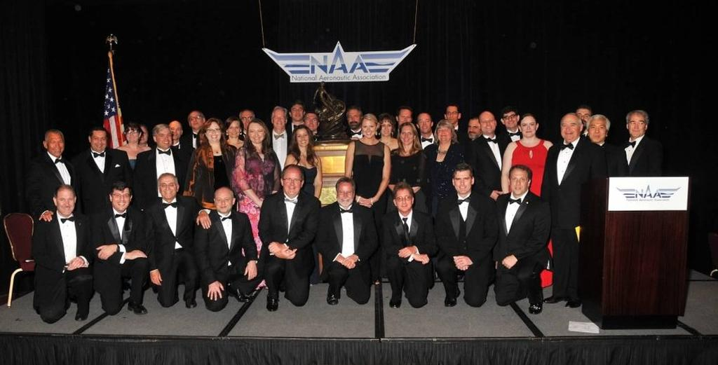 The men and women behind the dramatic landing of NASA's Curiosity rover on Mars in August 2012 were honored with the 2013 Robert J. Collier Trophy from the National Aeronautics Association.