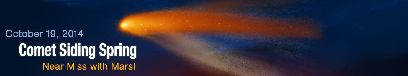 Comet Siding Spring: October 19, 2014