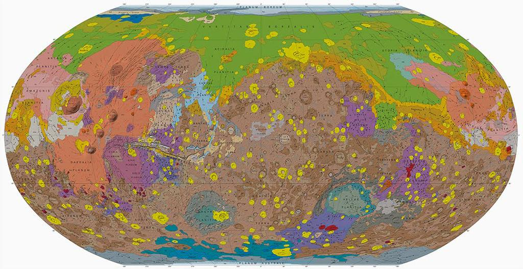 Geologic Map of Mars