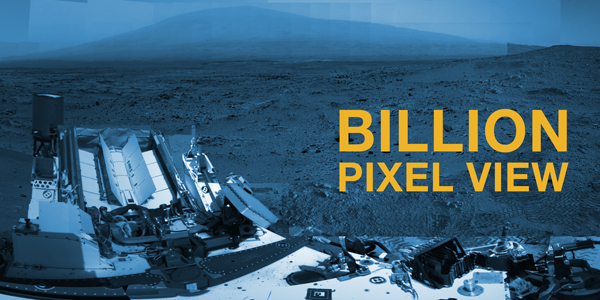 Curiosity's Billion-Pixel at Rocknest Interactive