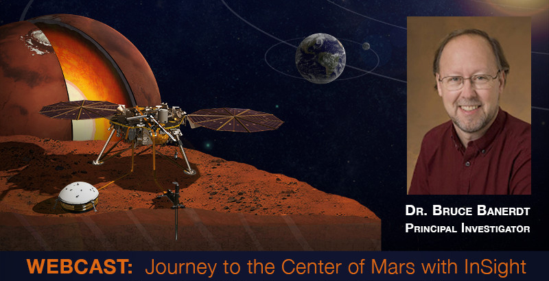 Watch the von Karman Lecture: Journey to the Center of Mars with InSight