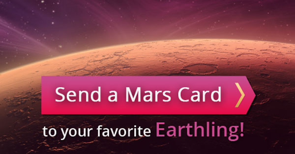 Send a Mars Valentine's Day Card
