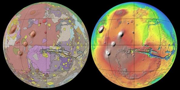 Global Geologic Map of Mars