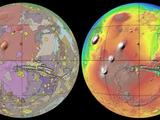 "This new global geologic map of Mars depicts the most thorough representation of the ""Red Planet's"" surface. This map provides a framework for continued scientific investigation of Mars as the long-range target for human space exploration"