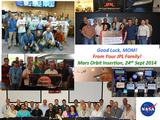 DSN team members stationed around the world welcome India's MOM to Mars.