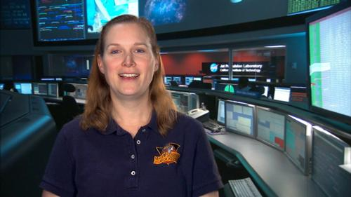 Kim Lichtenberg, a scientist and engineer who works on NASA's Mars Exploration Rover missions, introduces the learning tutorials developed by Khan Academy in collaboration with NASA.