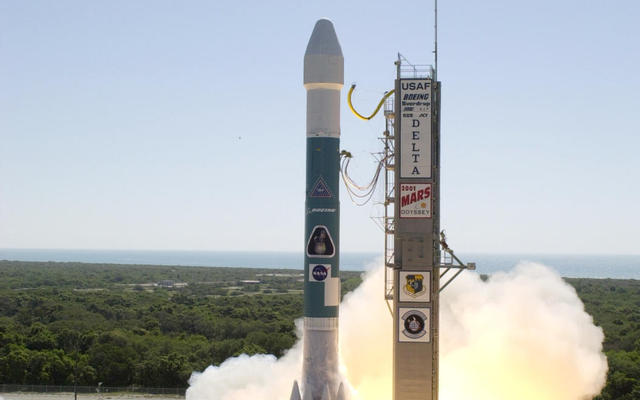 Odyssey Launches Boeing's Delta II 7925