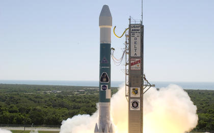 read the article 'Odyssey Launches Boeing's Delta II 7925'