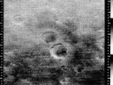 This image is the 8th taken by Mariner 4 showing craters.