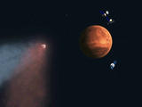 read the article 'Mars Spacecraft Reveal Comet Flyby Effects on Martian Atmosphere'