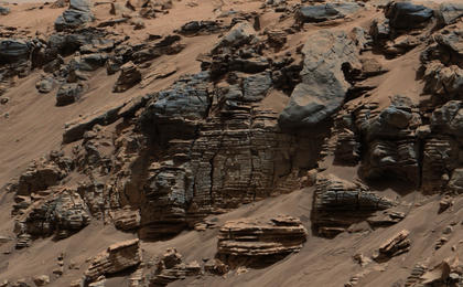 read the article 'Curiosity Peels Back Layers on Ancient Martian Lake'