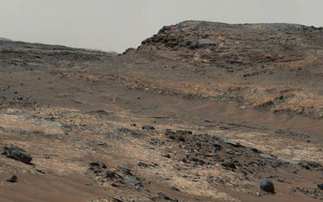 Diverse Terrain Types on Mount Sharp, Mars (Figure 1)
