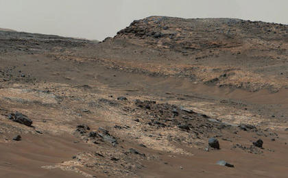 Diverse Terrain Types on Mount Sharp, Mars