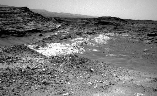 Rover's Reward for Climbing: Exposed Geological Contact
