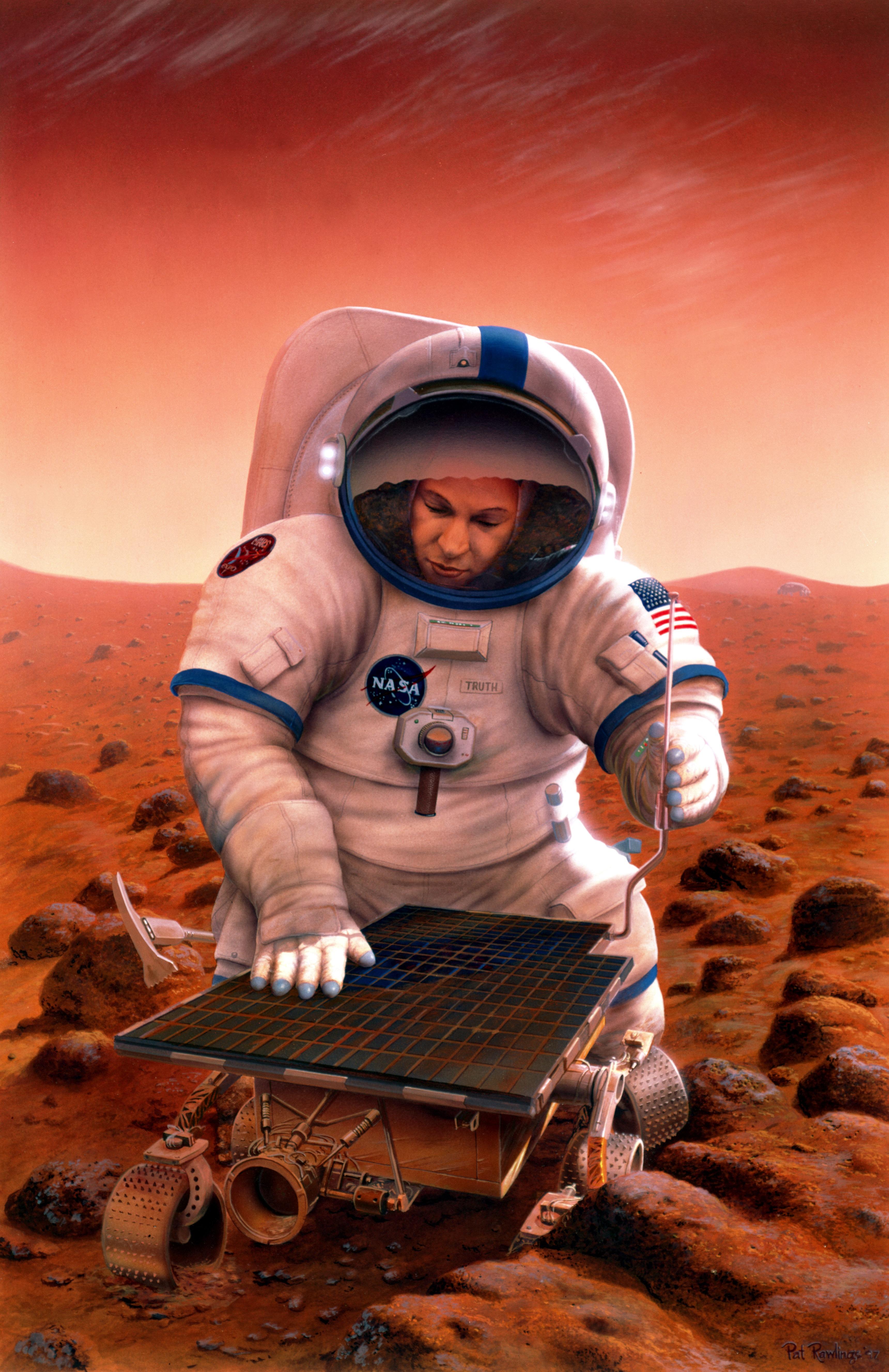 Mars Pathfinder Nasa | Tattoo Design Bild
