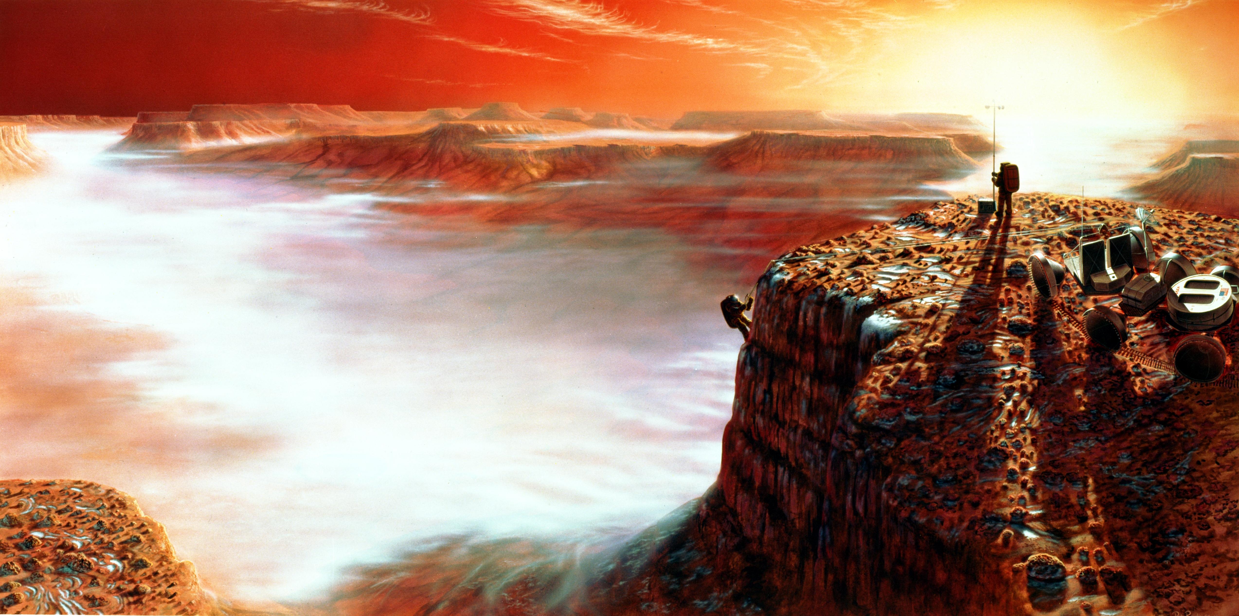 mars canyon nasa - photo #32