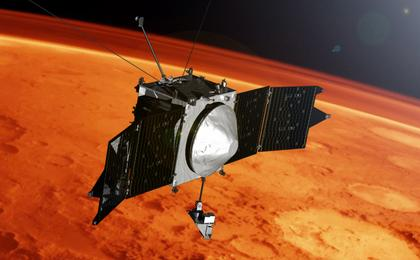 read the article 'NASA's MAVEN Reveals Mars Has Metal in its Atmosphere'