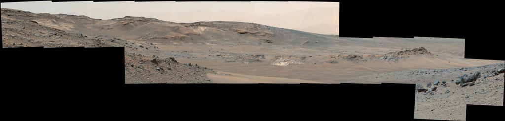 view 'Looking Toward Curiosity Study Areas, Spring 2015'