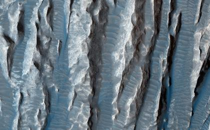 read the article 'Yardangs in Arsinoes Chaos, Mars'