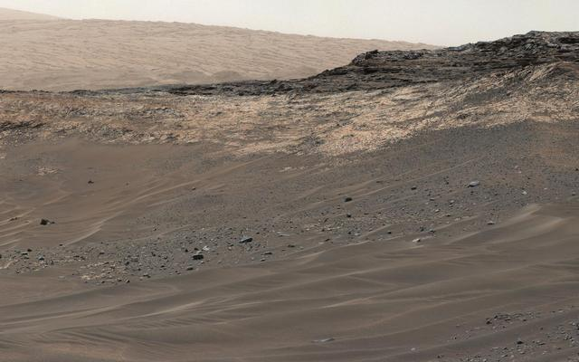 read the article 'NASA's Curiosity Rover Adjusts Route Up Martian Mountain'