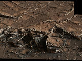 read the article 'NASA's Curiosity Eyes Prominent Mineral Veins on Mars'