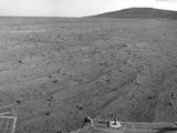 NASA's Mars Exploration Rover Opportunity captured this scene looking farther southward just after completing a southward drive, in reverse, during the 3,749th Martian day, or sol, of the rover's work on Mars (Aug. 10, 2014).